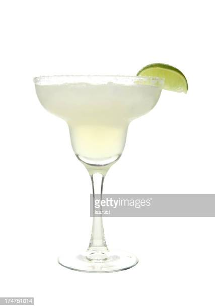 Cocktails on white: Margarita.