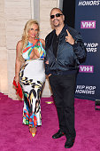 Coco and Ice T attend the VH1 Hip Hop Honors All Hail The Queens at David Geffen Hall on July 11 2016 in New York City