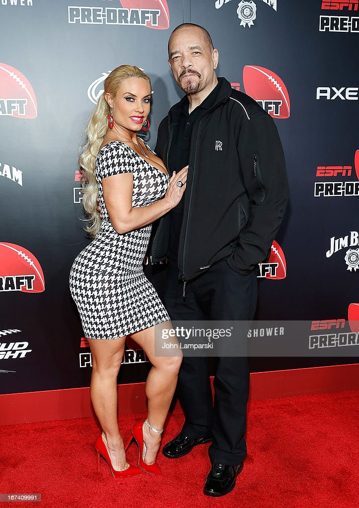 Coco and Ice- T attends the 10th Annual ESPN The Magazine Pre-Draft Party at The IAC Building on April 24, 2013 in New York City.
