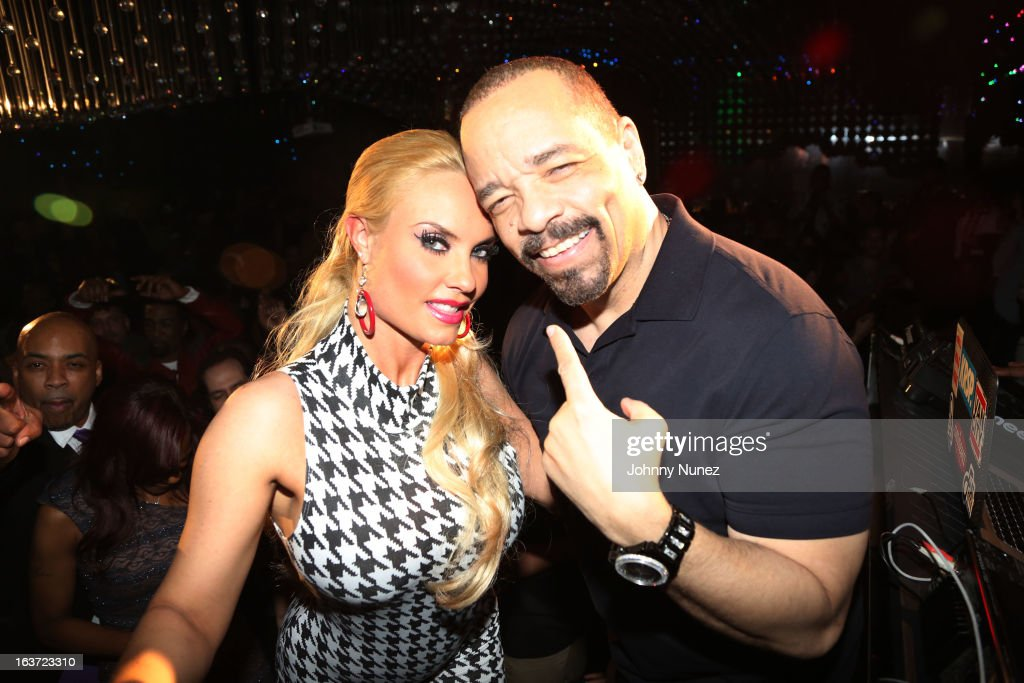 Coco and IceT attend Coco's Birthday Party at Greenhouse on March 14 2013 in New York City