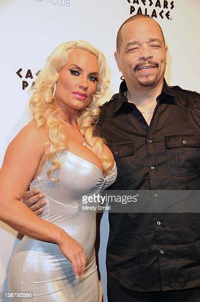 Coco and IceT attend 'Ice Loves Coco' Season 2 premiere party at Pure Nightclub on February 11 2012 in Las Vegas Nevada