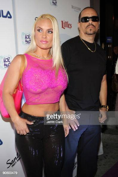 Coco and IceT attend Raekwon's 'Only Built 4 Cuban Linx II' album release party at Santos Party House on September 8 2009 in New York City