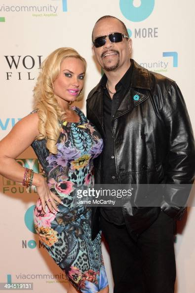 Coco and IceT attend the Joyful Heart Foundation Presents The Joyful Revolution Gala 10th Anniversary Celebration at Cipriani 42nd Street on May 29...