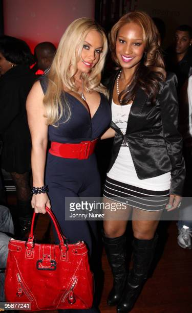 Coco and Olivia attend Strength Through Unity A Haitian Benefit Relief at Crimson on January 18 2010 in New York City