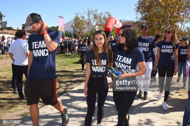 Coco Arquette and Courteney Cox attend the 15th Annual LA County Walk To Defeat ALS with Nanci Ryder 'Team Nanci' at Exposition Park on October 15...