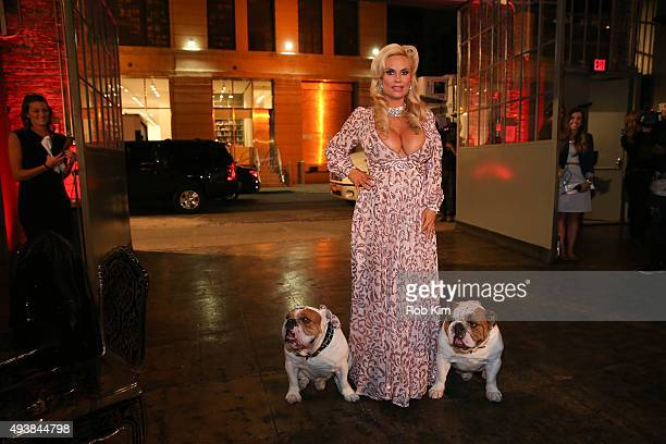 Coco attends David Tutera's CELEBrations IceT Coco's PreBirthday Party For Baby Chanel at Cedar Lake Events on October 22 2015 in New York City