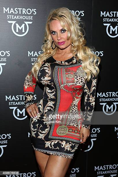 Coco attends the Mastro's Steakhouse Grand Opening Celebration on November 11 2014 in New York City