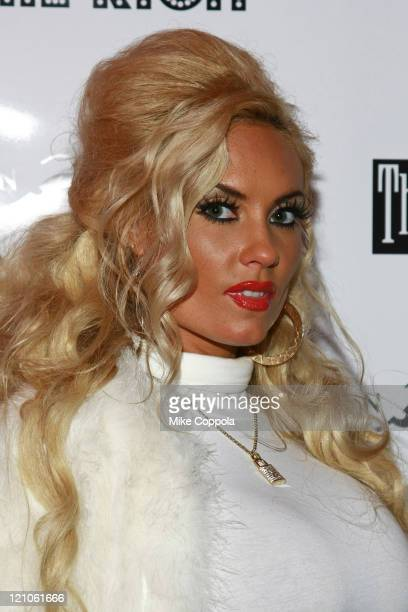 Coco attends the Richie Rich after party at Cain Luxe during MercedesBenz Fashion Week Fall 2009 on February 18 2009 in New York City