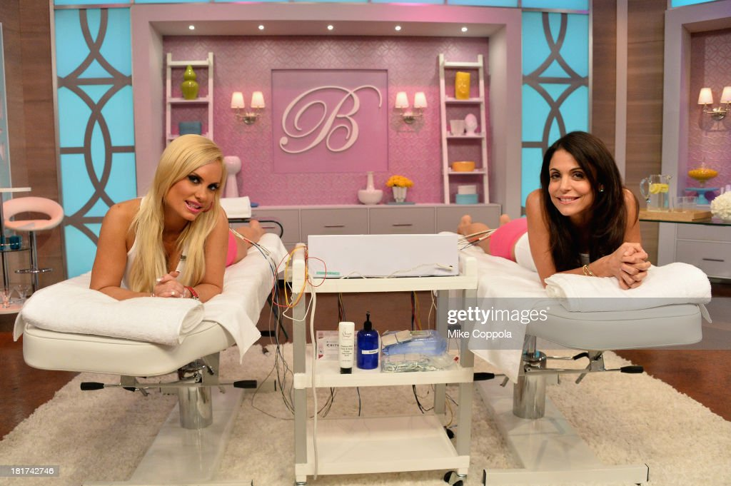 Coco Austin (L) and Bethenny Get Fanny Facials. Mike Epps, Roselyn Sanchez and Terry Crews also stop by the show on September 20, 2013 in New York City.