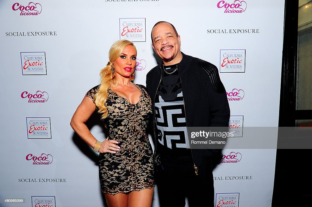 <a gi-track='captionPersonalityLinkClicked' href=/galleries/search?phrase=Coco+Austin&family=editorial&specificpeople=207511 ng-click='$event.stopPropagation()'>Coco Austin</a> and <a gi-track='captionPersonalityLinkClicked' href=/galleries/search?phrase=Ice-T&family=editorial&specificpeople=213017 ng-click='$event.stopPropagation()'>Ice-T</a> attend the 'Coco Licious' Collection Launch at The Raven on March 25, 2014 in New York City.