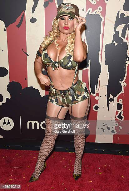 Coco Austin attends 'Heidi Klum's 15th Annual Halloween Party' at TAO Downtown on October 31 2014 in New York City