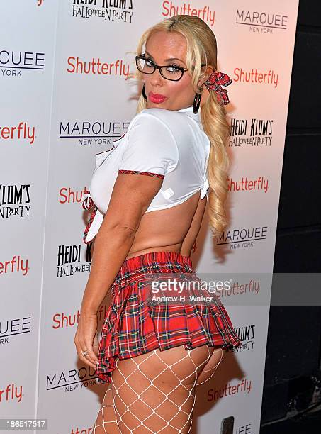 Coco Austin attends Heidi Klum's Halloween presented by Shutterfly at Marquee on October 31 2013 in New York City