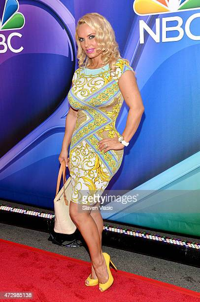 Coco Austin attends The 2015 NBC Upfront Presentation at Radio City Music Hall on May 11 2015 in New York City