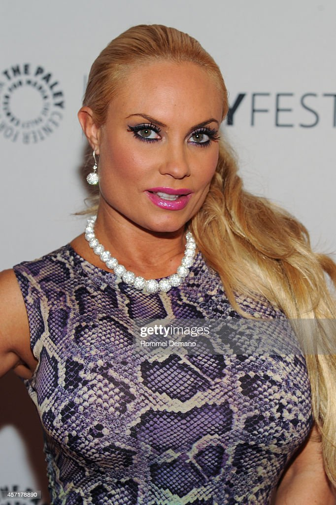 Coco Austin attends the 2nd Annual Paleyfest New York Presents Law Order SVU' at Paley Center For Media on October 13 2014 in New York New York