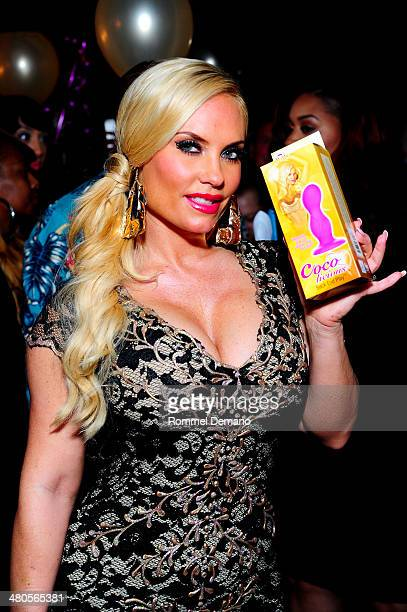 Coco Austin attends the 'Coco Licious' Collection Launch at The Raven on March 25 2014 in New York City
