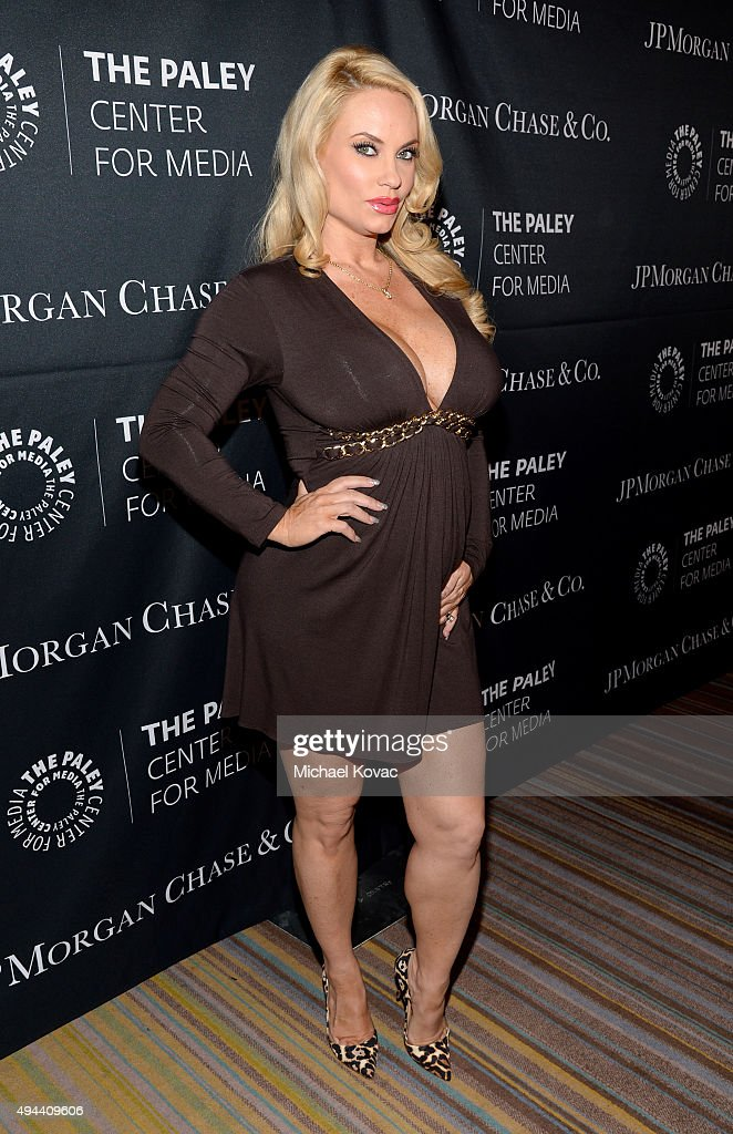 Coco Austin attends the Paley Center For Media's Hollywood Tribute To AfricanAmerican Achievements in Television Presented by JPMorgan Co on October...