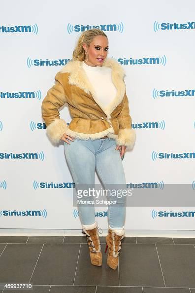Coco Austin visits SiriusXM Studios on December 4 2014 in New York City