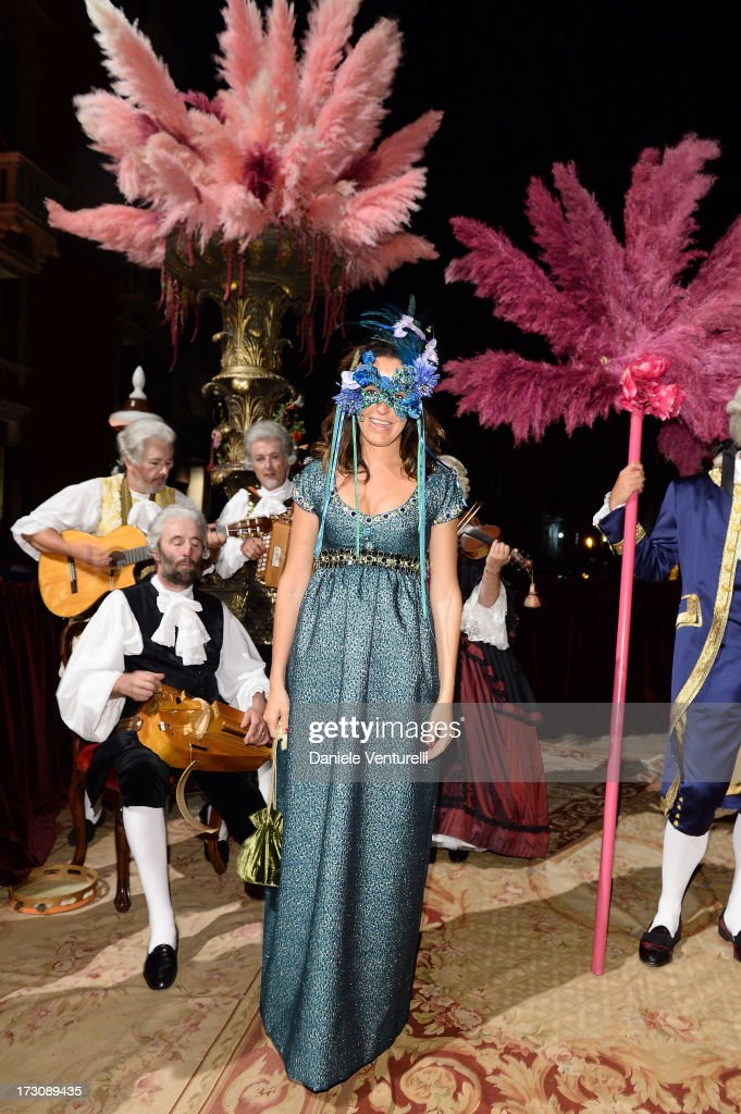 Coco Brandolino D'Adda attends the 'Ballo in Maschera' to Celebrate Dolce&Gabbana Alta Moda at Palazzo Pisani Moretta on July 6, 2013 in Venice, Italy.