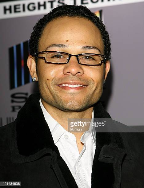 Coco Crisp during The Boyle Heights Music and Arts Program Launch Arrivals at Boyle Heights School in Los Angeles California United States