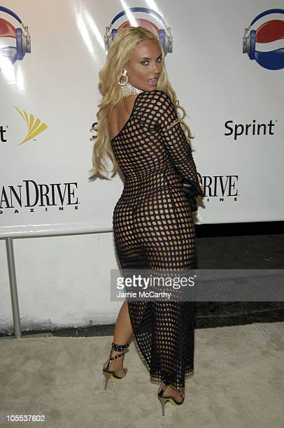 Coco during 2005 MTV VMA Diddy Hosts 'The One And Only Official After Party' at Space in Miami Beach Florida United States