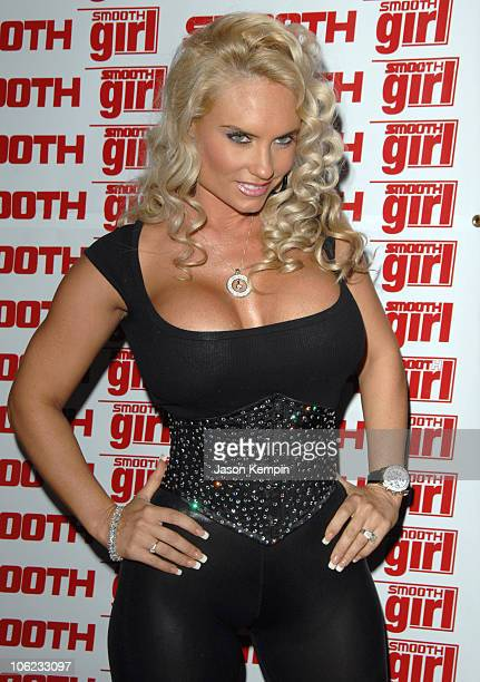 Coco during Coco Hosts Smooth Magazine January Issue Cover Party January 22 2007 at Blvd in New York City New York United States