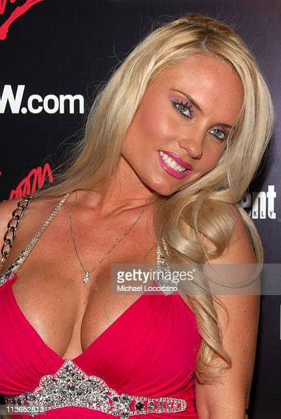 Coco during Entertainment Weekly 2007 Upfront Party Red Carpet at The Box in New York City New York United States