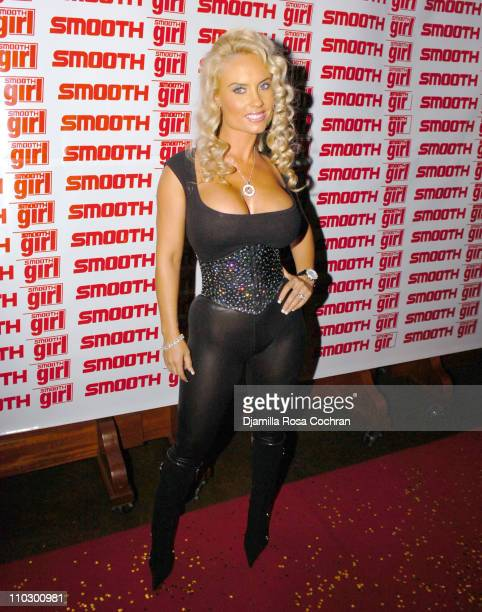 Coco during Ice T and Coco Host Smooth Magazine Cover Party at Boulevard January 22 2007 at Boulevard in New York City New York United States