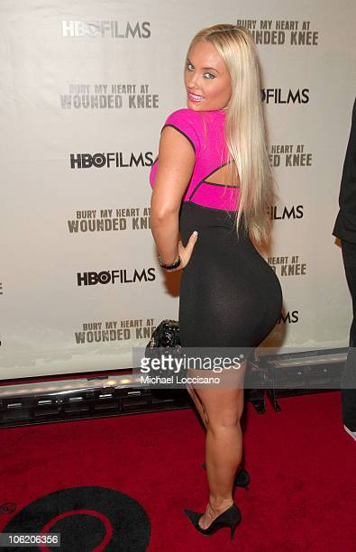 Coco during The World Premiere of HBO Film's 'Bury My Heart at Wounded Knee' Arrivals at American Museum of Natural History in New York City New York...