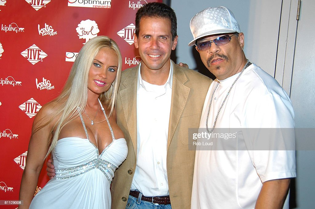 Coco, Eric Sherman from VH1 Classic, and Ice-T