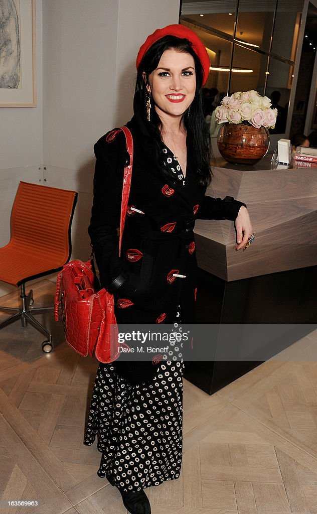 Coco Fennell attends the launch of Louise Fennell's new book 'Fame Game' at Grace Belgravia on March 12, 2013 in London, England.