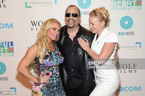 Coco IceT and Kelli Giddish attend the Joyful Heart Foundation Presents The Joyful Revolution Gala 10th Anniversary Celebration at Cipriani 42nd...