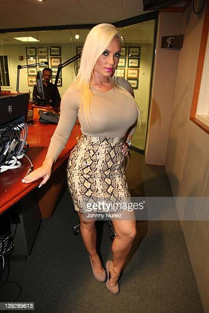 Coco invades 'The Whoolywood Shuffle' at SiriusXM Studio on February 16 2012 in New York City