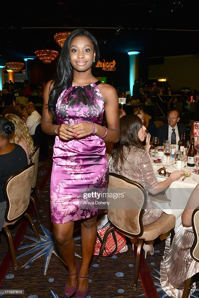 Coco Jones at The Thirst Project 4th annual gala and performance at The Beverly Hilton Hotel on June 25, 2013 in Beverly Hills, California.