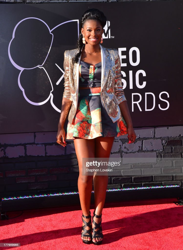 Coco Jones attends the 2013 MTV Video Music Awards at the Barclays Center on August 25, 2013 in the Brooklyn borough of New York City.
