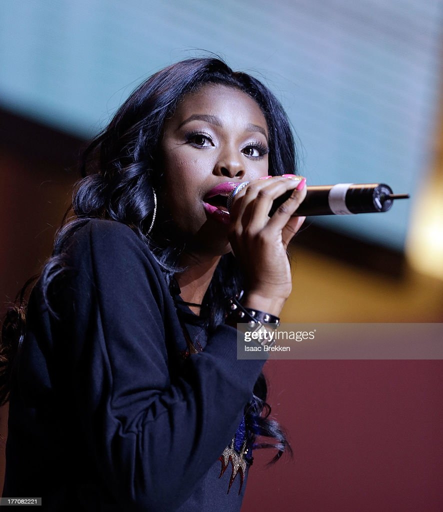 Coco Jones performs during the Pastry Fashion Show with 1U mission at the Fashion Show mall on August 20, 2013 in Las Vegas, Nevada.