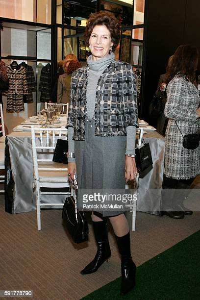 Coco Kopelman attends The Camellia Luncheon Sponsored by Chanel to benefit The New York Botanical Garden at Chanel on October 25 2005 in New York City