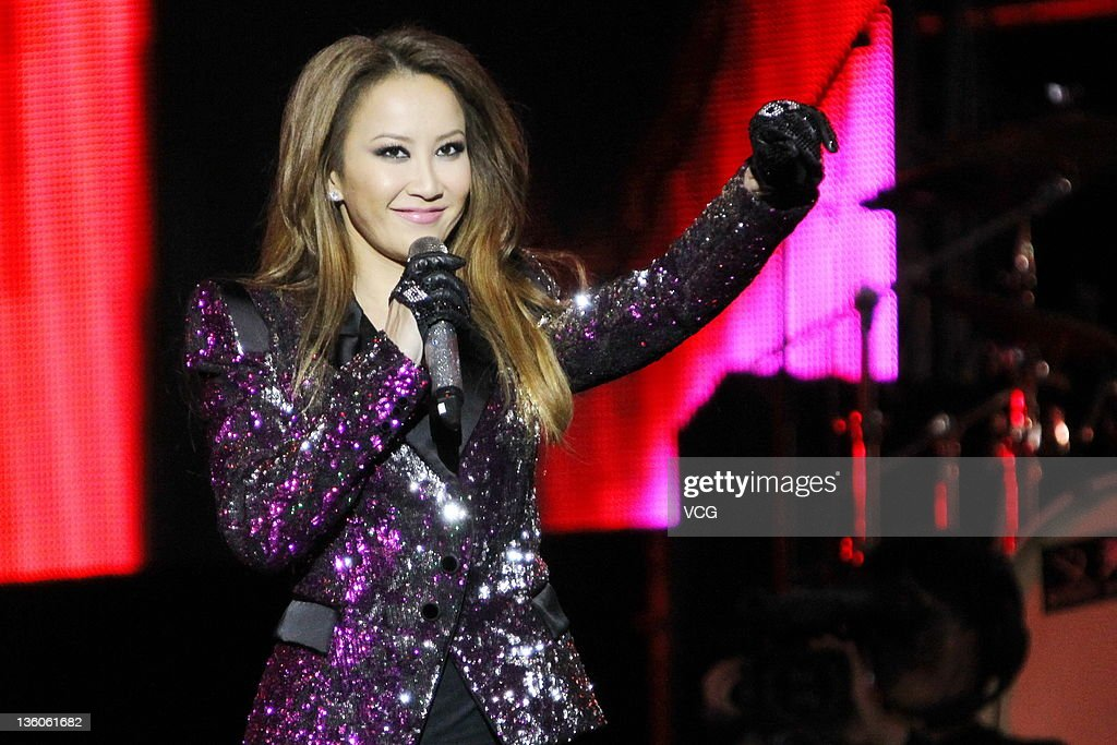 Coco Lee performs on stage during Booey Lehoo Beijing Concert at National Indoor Stadium on December 17, 2011 in Beijing, China.