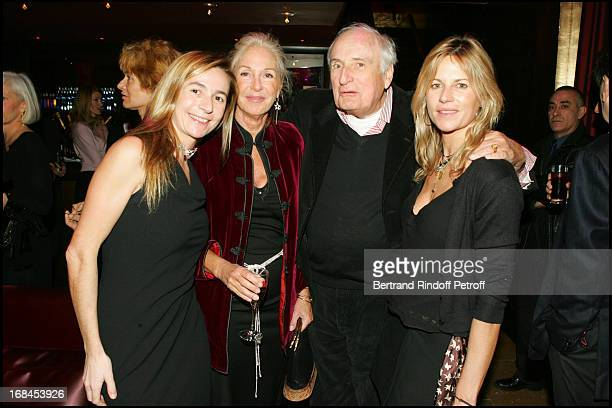 Coco Marie Dabadie JeanFrancois Deniau Virginie Clerc at 100th Episode Of 'Campus' Of Guillaume Durant At Le Cafe De L'Homme Restaurant At The...