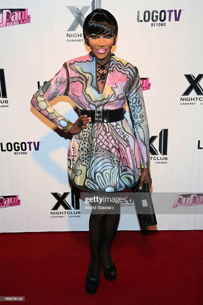 Coco Montrese attends 'Rupaul's Drag Race' Season 5 Premiere Party at XL Nightclub on January 25, 2013 in New York City.