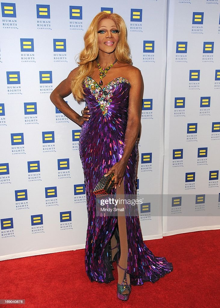 Coco Montrese attends the 8th Annual Human Rights Campaign Dinner Gala at the Aria Resort & Casino on May 18, 2013 in Las Vegas, Nevada.