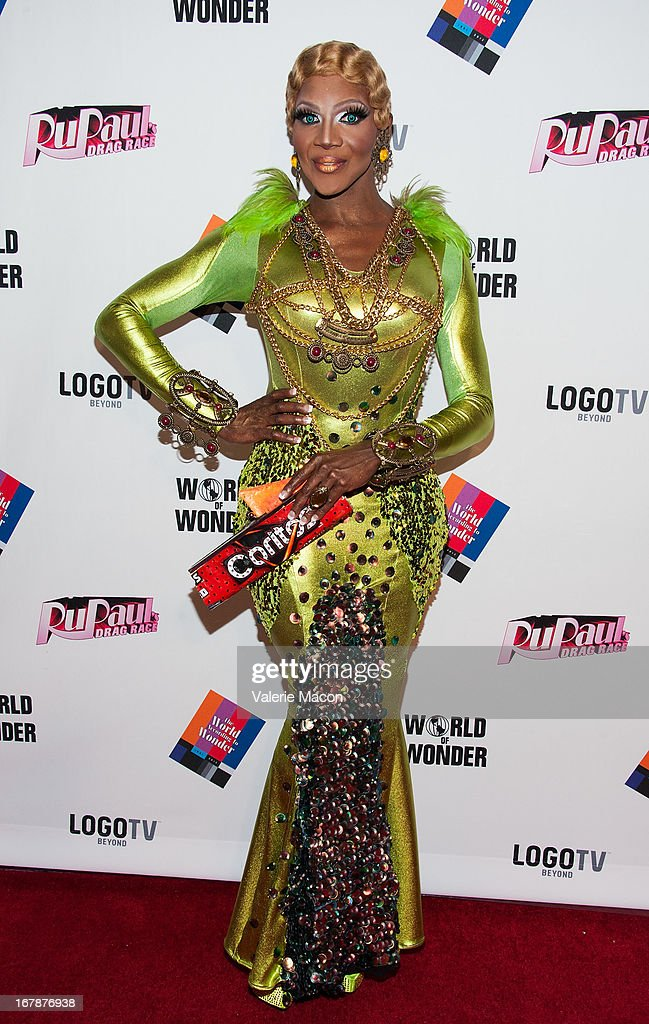 Coco Montrese attends the Finale, Reunion & Coronation Taping Of Logo TV's 'RuPaul's Drag Race' Season 5 on May 1, 2013 in North Hollywood, California.
