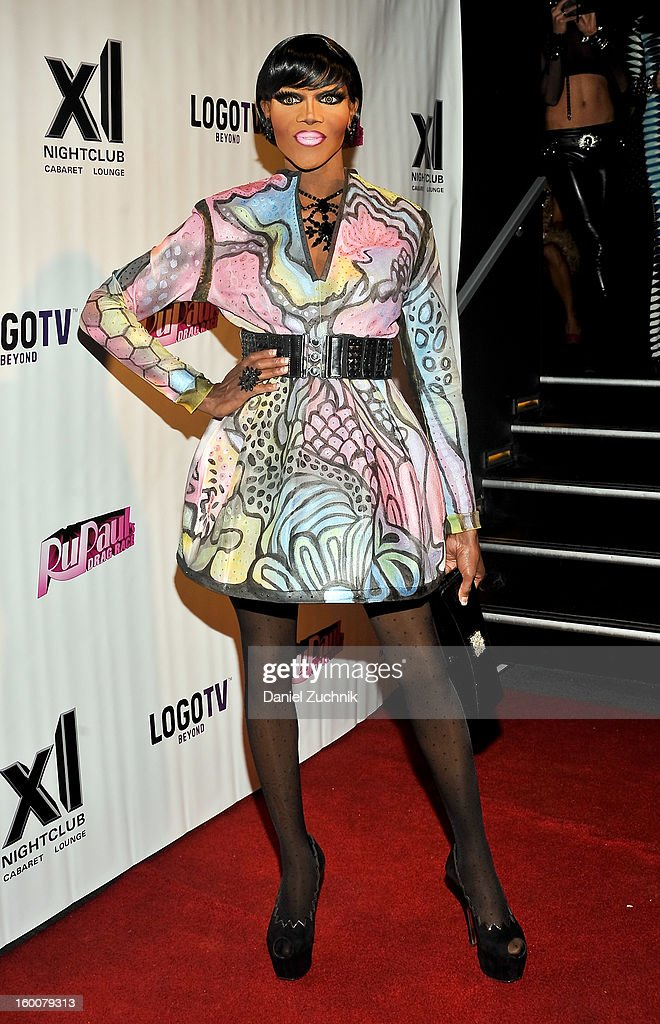 Coco Montrese attends the 'RuPaul's Drag Race' season 5 party at XL Nightclub on January 25, 2013 in New York City.