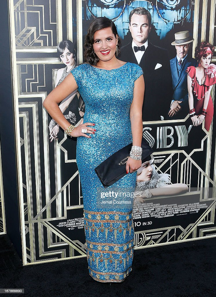 Coco O of Quadron attends the 'The Great Gatsby' world premiere at Avery Fisher Hall at Lincoln Center for the Performing Arts on May 1, 2013 in New York City.