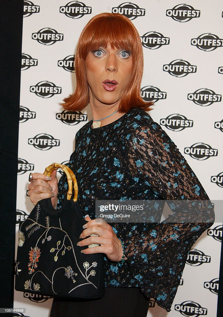 Coco Peru during The Opening Night Gala of OUTFEST featuring 'Party Monster' in Los Angeles California United States