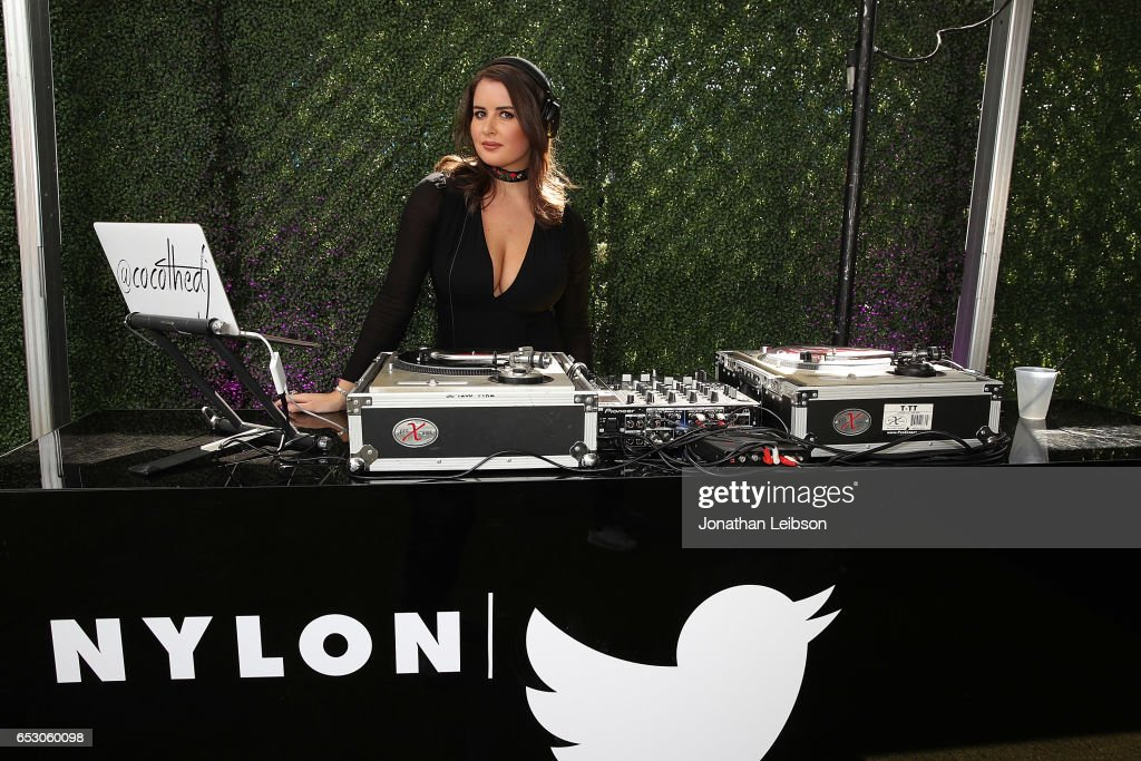 Coco Robert attends the NYLON's Happiest Of Hours At #TwitterHouse at Bar 96 on March 13, 2017 in Austin, Texas.