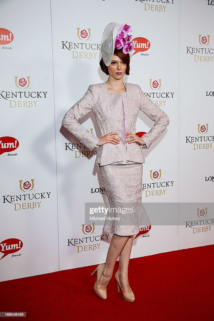 Coco Rocha attends 139th Kentucky Derby at Churchill Downs on May 4, 2013 in Louisville, Kentucky.