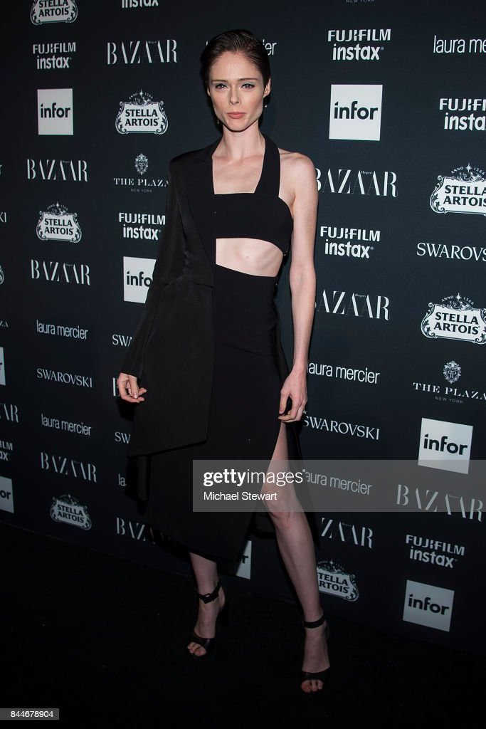 Coco Rocha attends 2017 Harper's Bazaar Icons at The Plaza Hotel on September 8, 2017 in New York City.