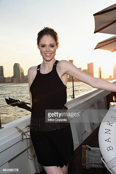 Coco Rocha attends All Aboard as W Hotels toasts the upcoming opening of W Amsterdam with 'Captains' Taylor Schilling Erin Heatherton Chanel Iman...