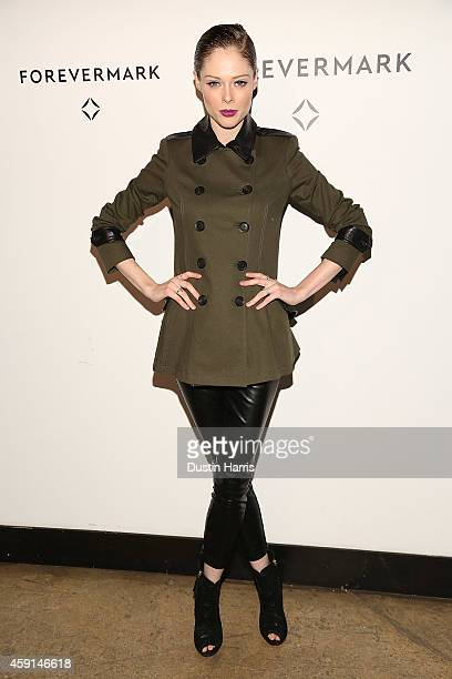 Coco Rocha attends Hold My Hand Forever Exhibition By Forevermark at Highline Studios on November 17 2014 in New York City