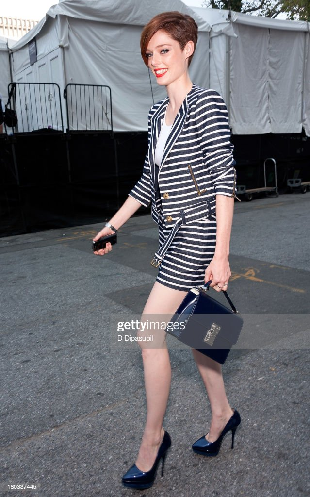 Coco Rocha attends Mercedes-Benz Fashion Week Spring 2014 at Lincoln Center for the Performing Arts on September 11, 2013 in New York City.